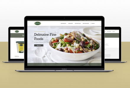 Delmaine Fine Foods Website