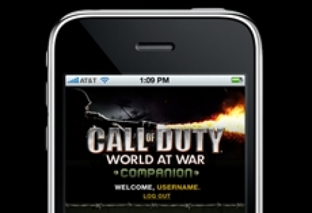 Activision : Call of Duty, World At War - iPhone Application