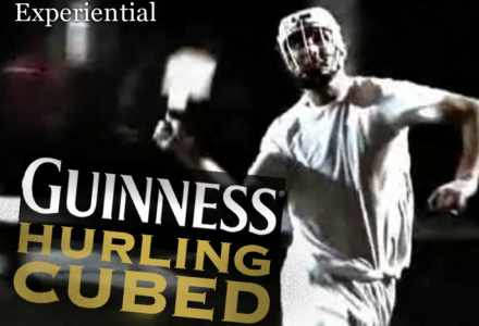 Guinness urban Hurling activation