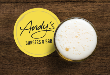 Andy's Burgers & Bar (BRAND & ADVERTISING)