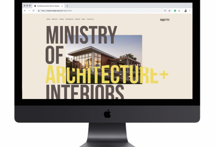 Ministry of Architecture & Interiors Website