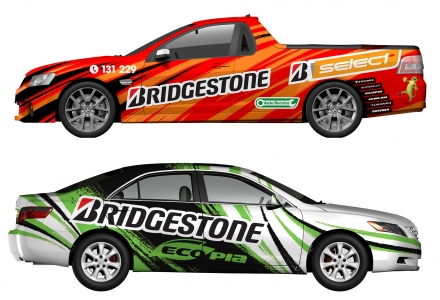 Car Livery - Bridgestone
