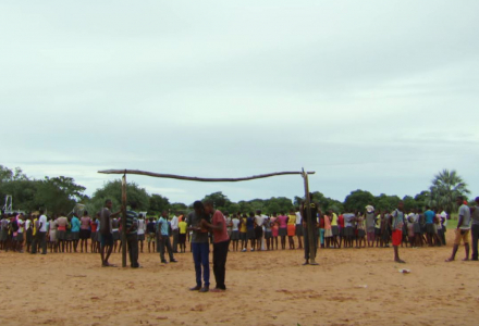Tribal Dodgeball in Angola