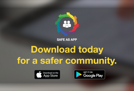 THE SAFE AS APP || PERSONAL SAFETY ASSISTANT
