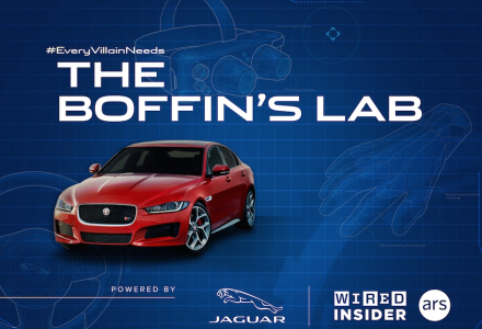 The Boffin's Lab Powered by Jaguar + Wired Insider