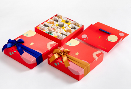 AMOUREUX Cookie Packaging Design