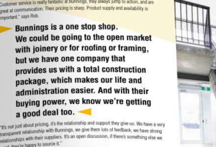Bunnings Trade Issue