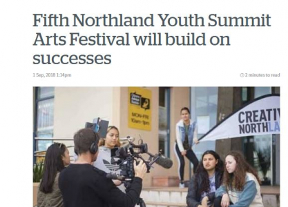 Media writing for Creative Northland2